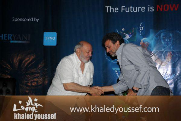 خالد يوسف ومحمد خان