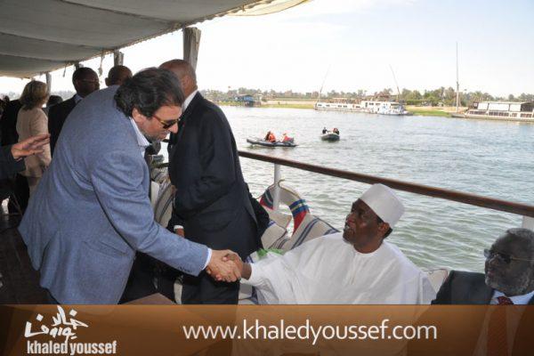 يوسف-فى-باخره-افتتاح-مهرجان-الاقصر-2